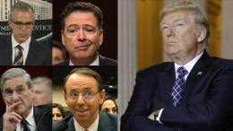 FISA Memo release shows key elements that the spying was obtained with false documents. Photo credit to compilation by Dagger News.