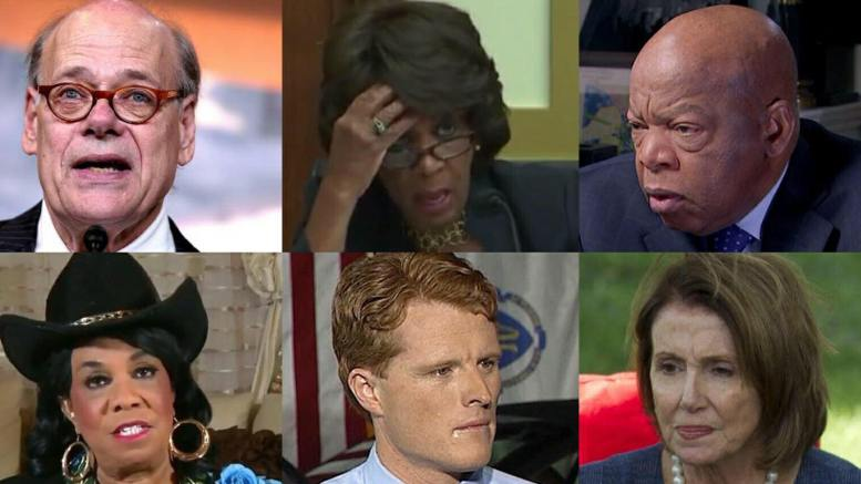 House Democrat All Stars. Photo credit to US4Trump compilation.