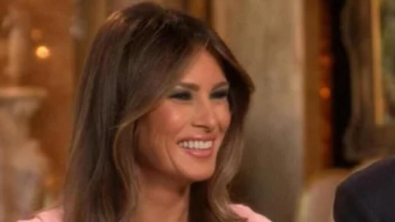 FLOTUS tweets amazing photograph. Feature photo credit to screen capture by US4Trump.