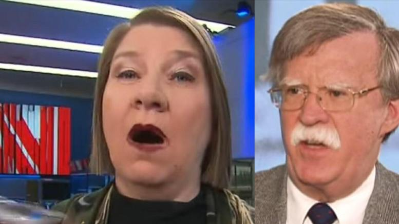 CNN is CRUSHED on Twitter for their mustache report. Photo credit to Jeanne Moos, John Bolton Screen Grabs by US4Trump compilation.