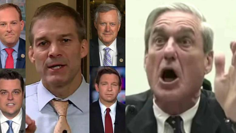 Congressmen team together to ask Attorney General Jeff Sessions if he was aware of the raid on Michael Cohen prior to April 9, 2018. Photo credit to US4Trump with screen captures from FOX, CNN, MSNBC and YouTube.