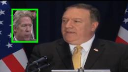 Mike Pompeo, Secretary of State sets the media straight about negotiation best practices. Image credit to US4Trump enhanced compilation.