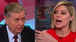 Lindsey Graham (SC-R) is extra salty on CNN! Image credit to US4Trump with screen capture compilation.
