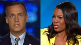 Corey supports Trump and calls out Omarosa. Photo credit to US4Trump with screen shots.