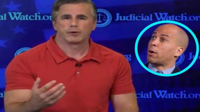 Fitton announced his next move. Photo credit to US4Trump compilation with (Main) video screen shot & (Inset) The Grio.