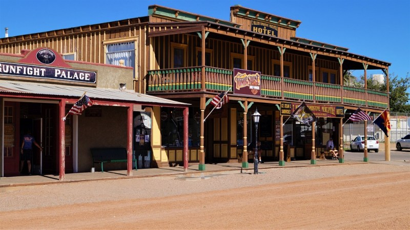Tombstone in Arizona