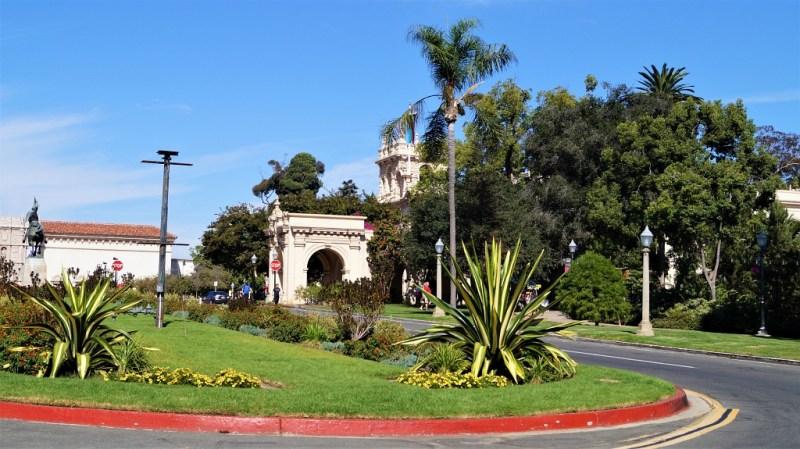 Balboa Park - Eingang