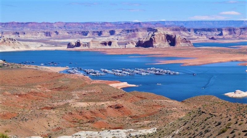 Boote auf dem Lake Powell
