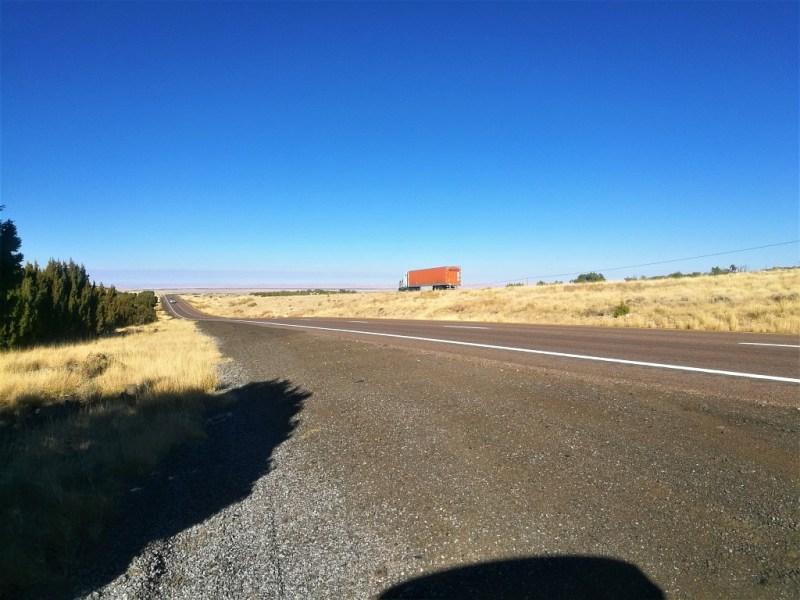 Endlose Straßen bei Flagstaff