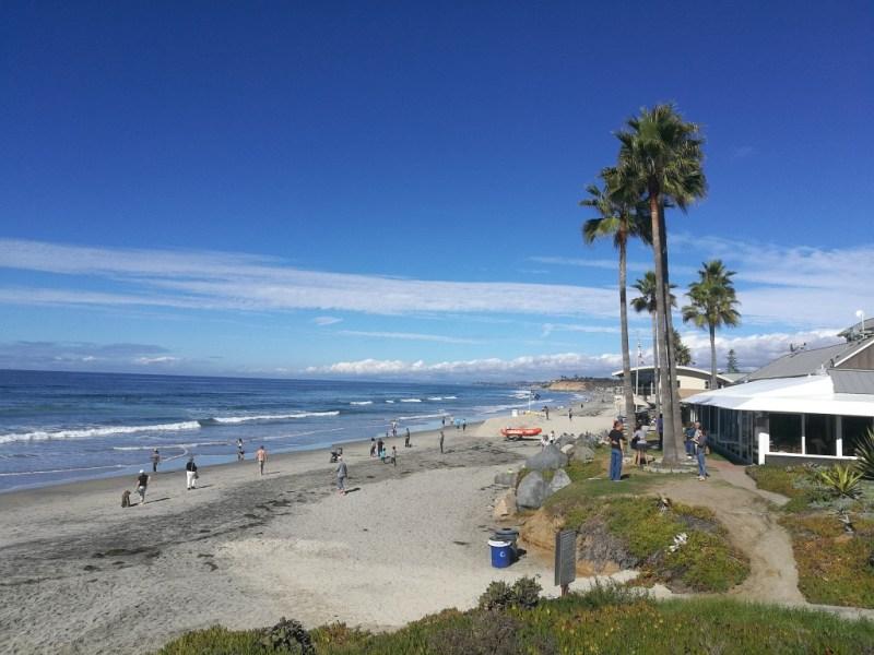 Meer in San Diego