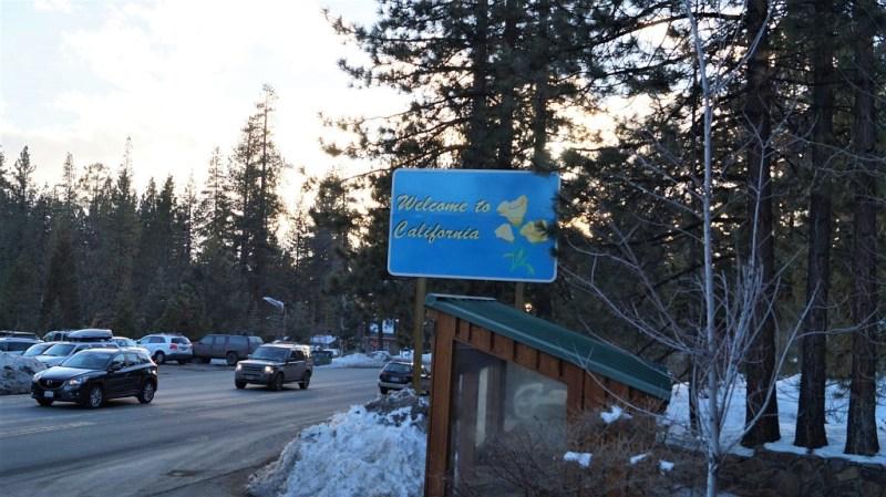 Grenze zu Kalifornien