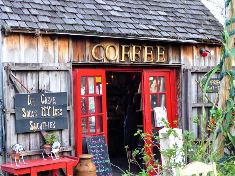 Kaffee triken im Florida Penhandle