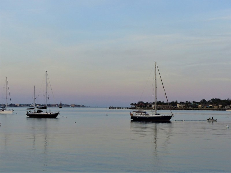 Sonnenuntergang im Florida Penhandle