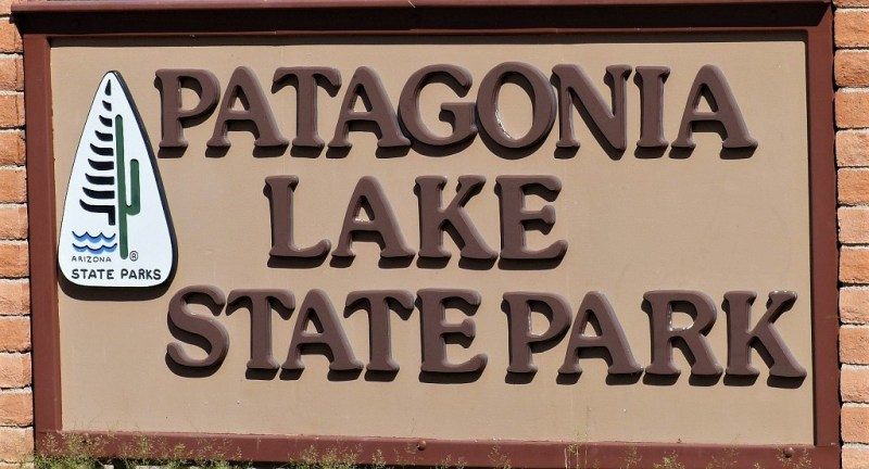 Schild Patagonia Lake State Park