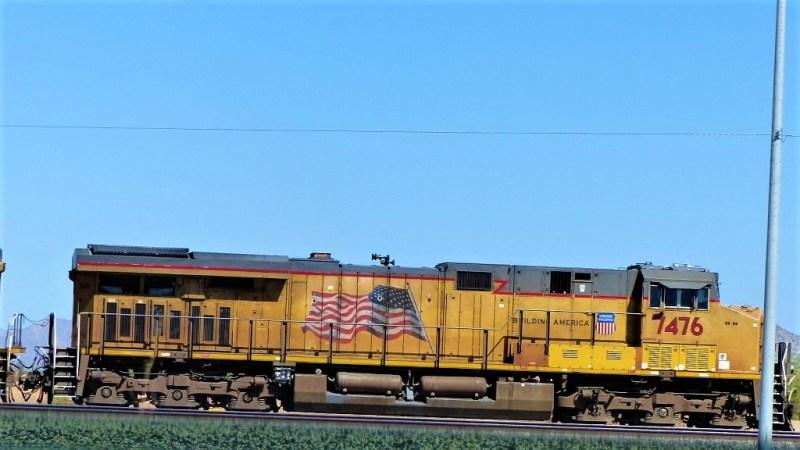Güterzug in Phoenix