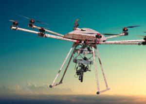 The TIKAD drone.  Gun toting sky killer