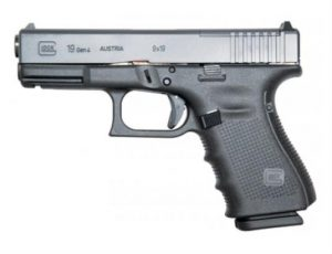Glock 19 handgun, endorsed by Navy SEALs