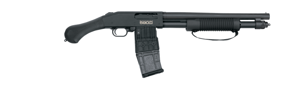 590M Shockwave - A Beauty of a mag fed shotgun and one of the best high-capacity shotguns in the world.