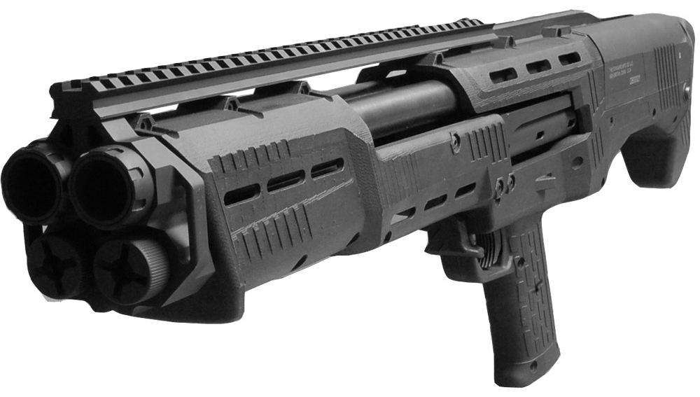 DP-12 double barrel shotgun pump action