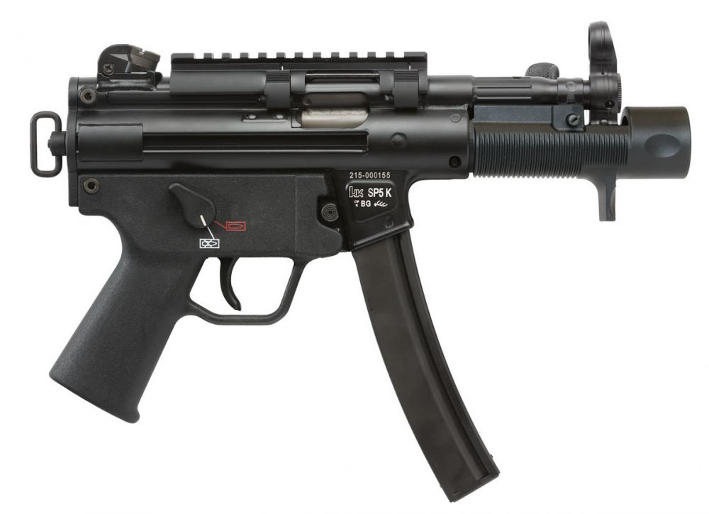 HK SP5K for sale - An icon of a sub-machine gun In semi-auto form. One of the best 9mm pistols ever.