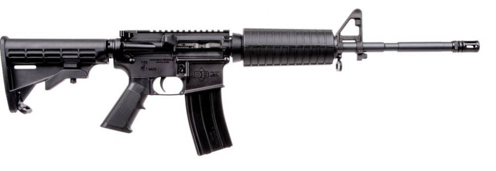Diamondback AR-15, a $500 rifle! Almost. Get your cheap AR-15 on sale at a discount here.