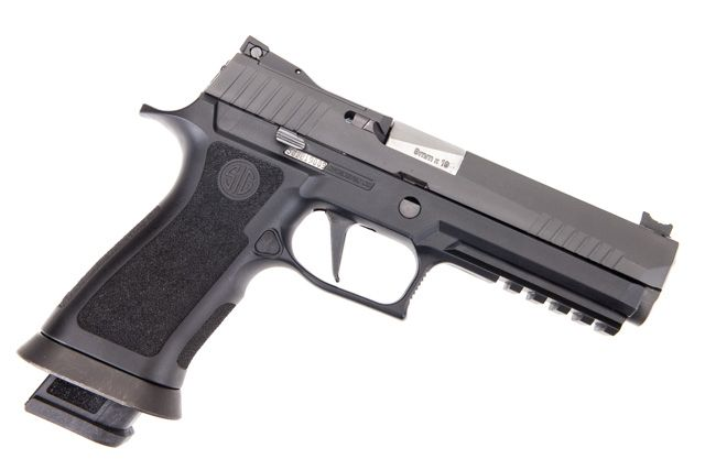 Sig Sauer P320 X-Five For Sale, Ported barrel and night sight