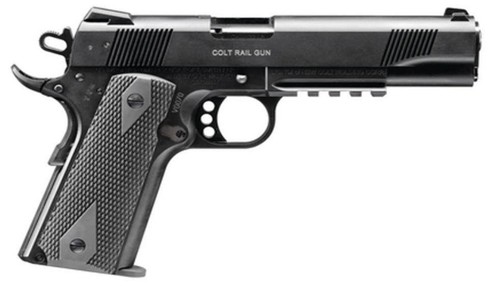 Colt Combat Unit Rail 1911 in 9mm for sale. Buy your gun online today at our unbeatable price.