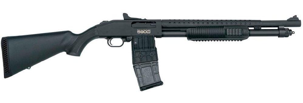 Mossberg Mag Fed Tactical Shotgun 590M