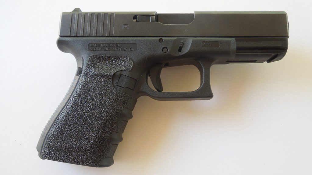 Grip tape decals for Glock 19