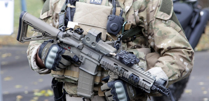 HK416, an assault rifle you can buy at home
