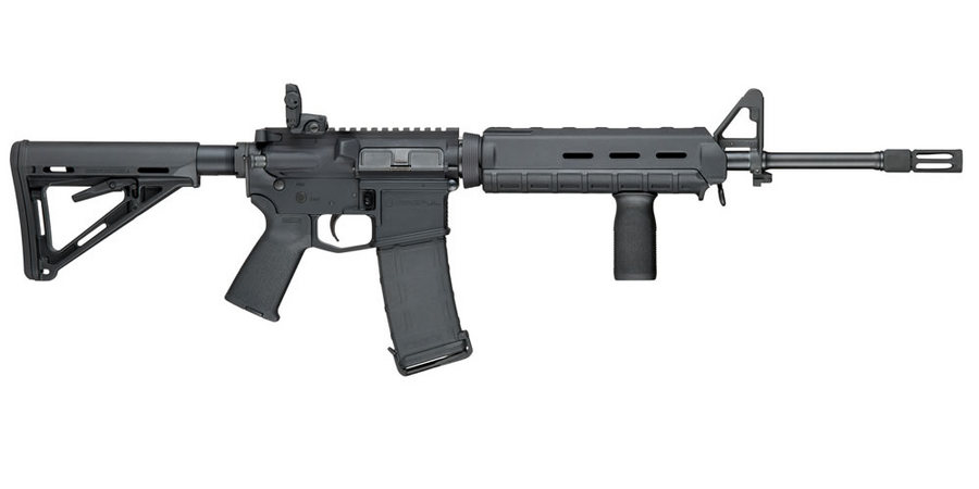 Smith and Wesson AR-15 with Magpul furniture