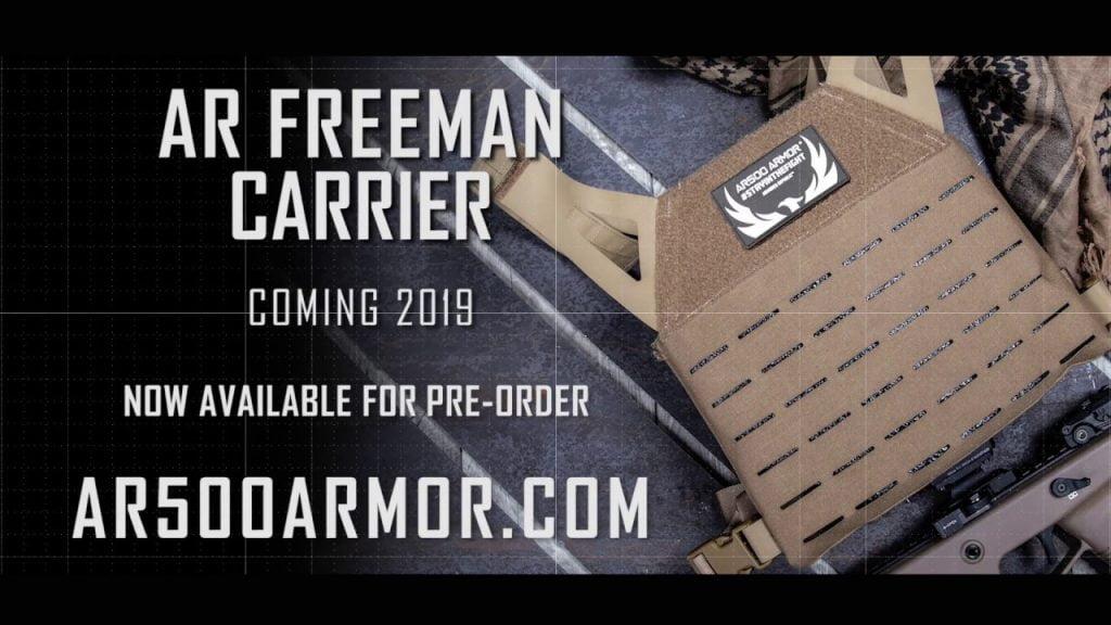 AR500 Freeman Carrier For Sale, the best body armor