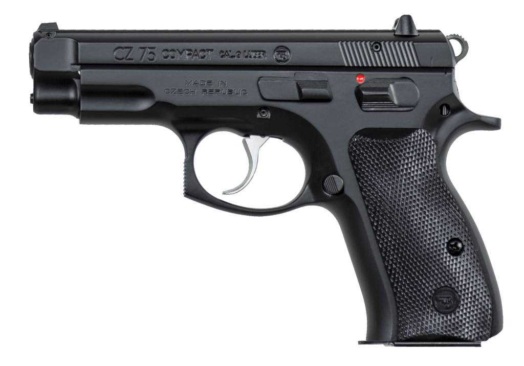 CZ 75 Compact - A great handgun for EDC and one of the best 9mm compact personal defense handguns on sale.