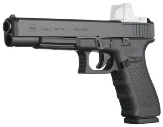 Hunting with a Glock? Yes you can with the 10mm GLock G40