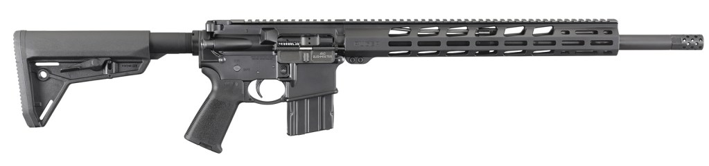 Ruger AR-556 450 Bushmaster, a beast of a short range rifle for big game hunting.
