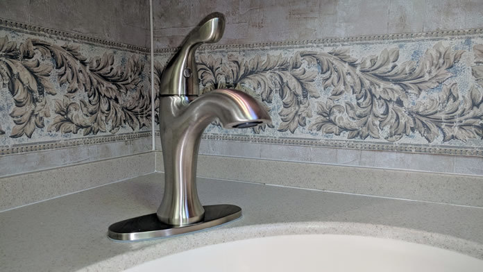 an unexpected rv bathroom faucet