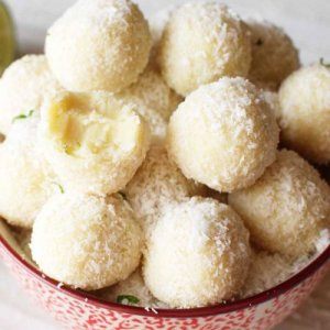 Ejercicio de Cantidad de Porción por Comensal con Incremento de Ingredientes de Trufas de Coco y Chocolate Blanco
