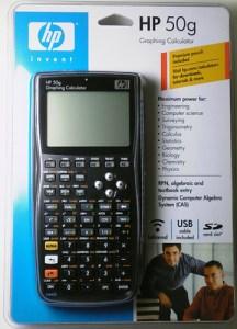 HP50-calculator