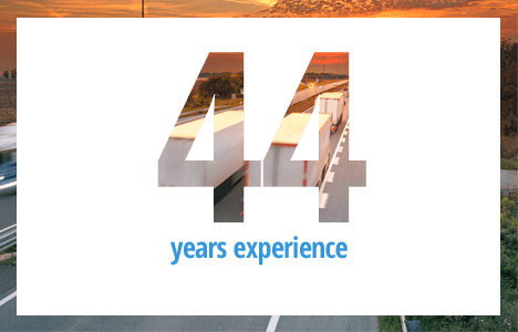 CPC Logistics 44 Years Experience