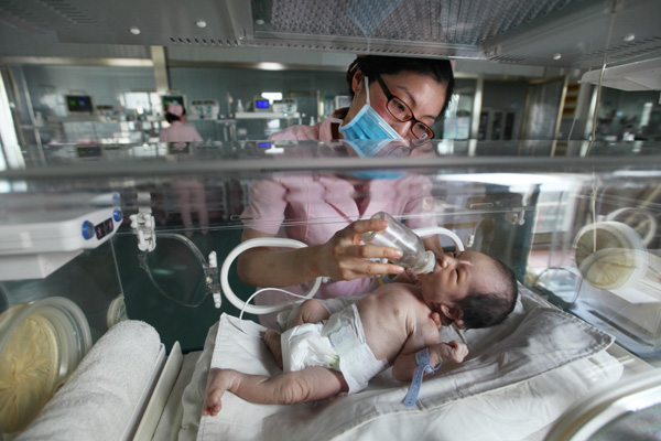 Big national birthrate rise signals new peak