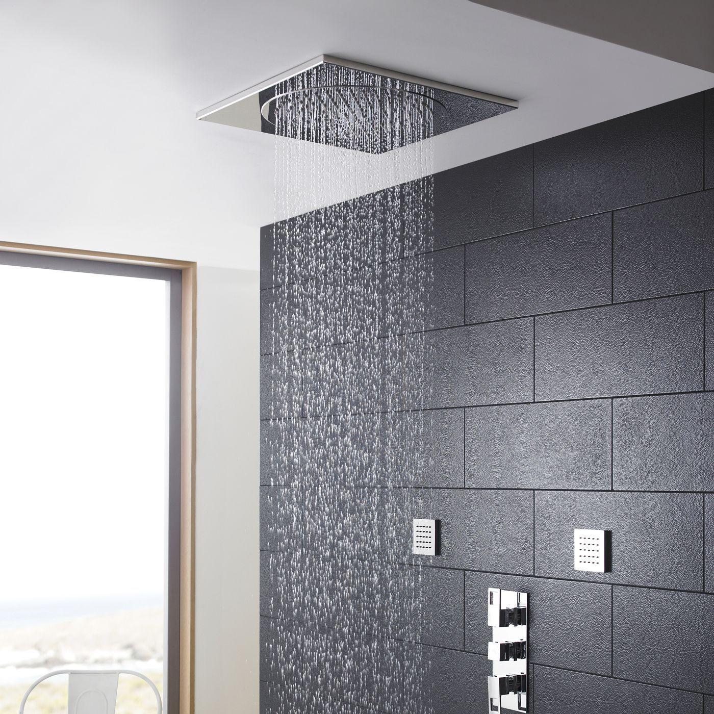 Ceiling Tile Shower Head 20