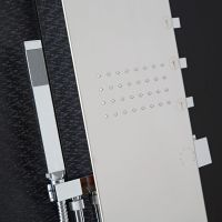 Chrome Exposed Thermostatic Shower Panel