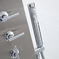 Thermostatic Shower Panel with Waterfall Head - Stainless ...