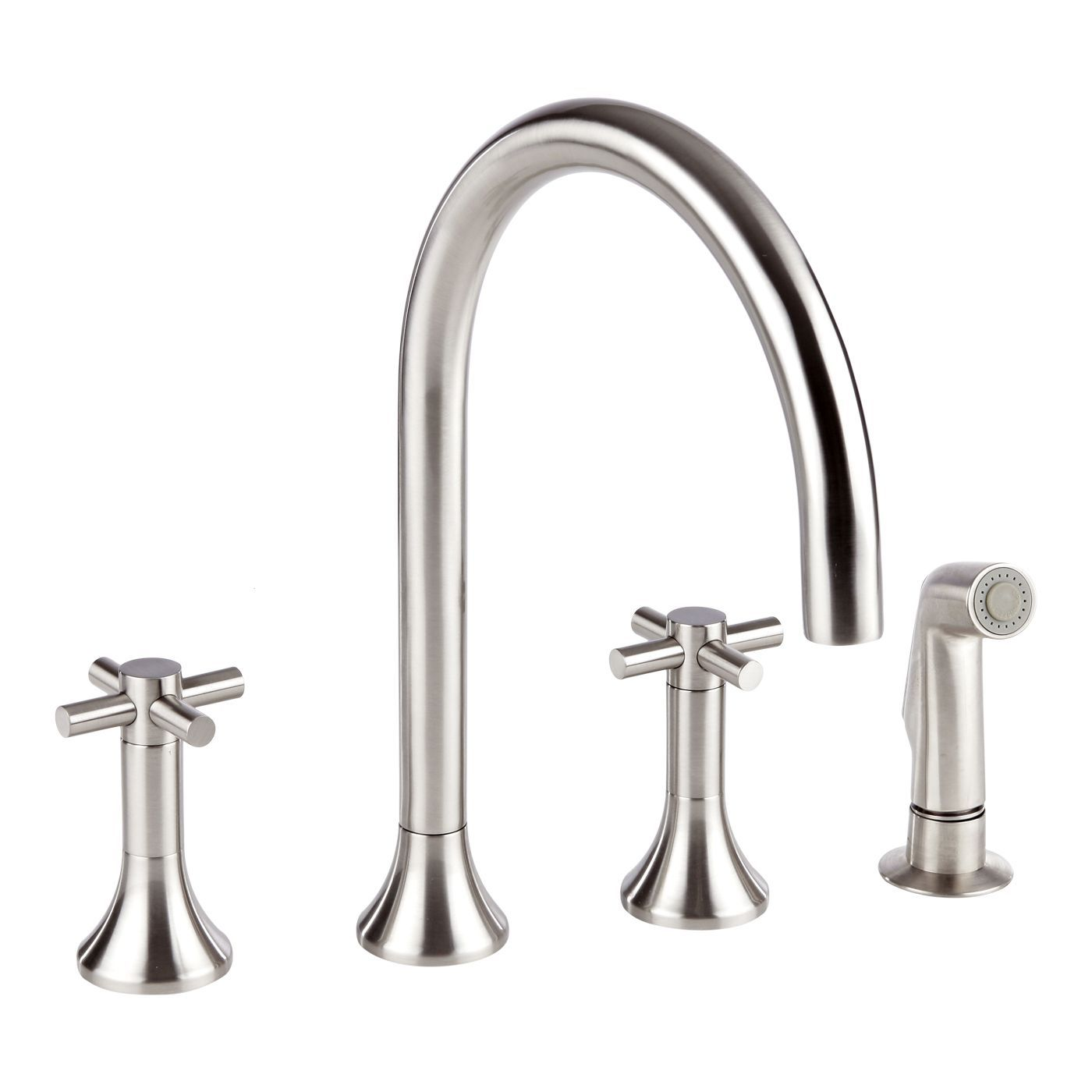 widespread kitchen faucet play dishes tec with side spray