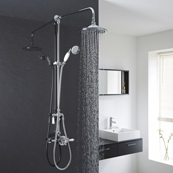 Exposed Shower Faucet Systems