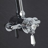 Exposed Traditional Thermostatic Dual Control Shower ...