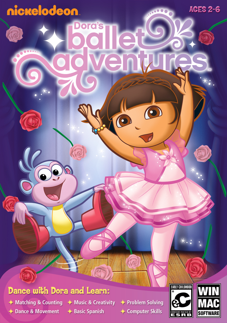 3d Wallpaper Software Dora S Ballet Adventure