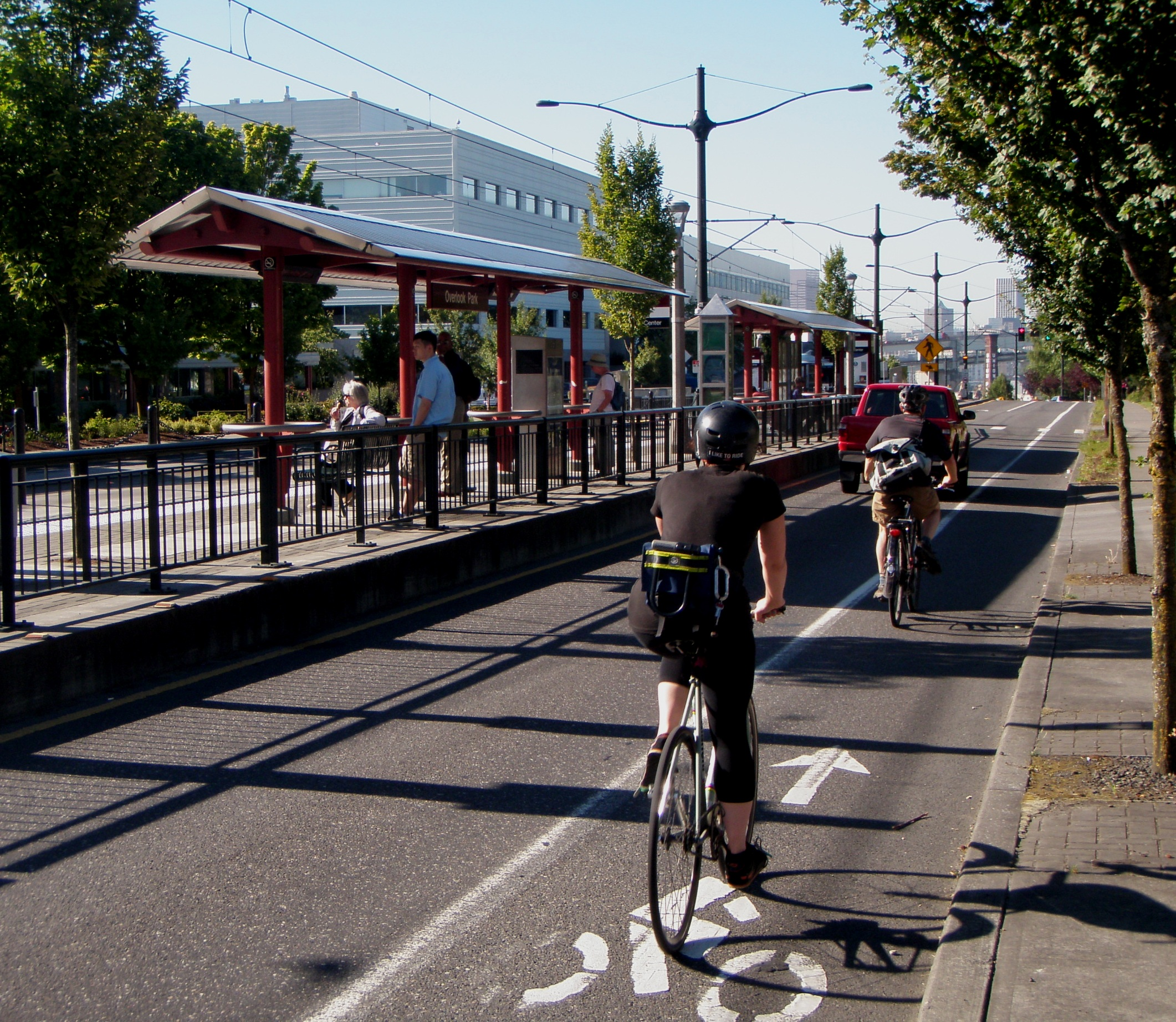 Bike facilities that pay returns in better health and environmental impacts might not be candidates for funding from the NIB, which demands returns in cold hard cash. Photo: ##http://onemorecyclist.wordpress.com/##One More Cyclist##