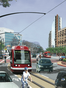 TIGER, which funded projects like Atlanta's new streetcar, is in question after the passage of new House rules. Image: ##http://georgiatransitconnector.com/##Georgia Transit Connector##