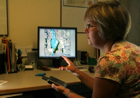 Some of the bicycle research presented at TRB, like Jennifer Dill's work on route selection, could be of great use to advocates. Photo: ##http://www.portlandtribune.com/sustainable/story.php?story_id=122402296838932000##L.E. Baskow / Pamplin Media Group##